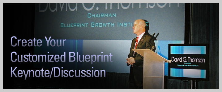 Create Your Customized Blueprint Keynote/Discussion